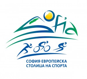 LOGO SOFIA - EUROPEAN CAPITAL OF SPORT PICTOGRAMS